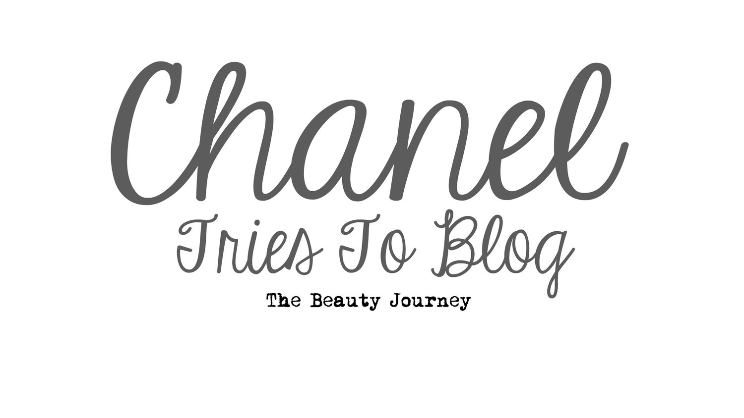 Chanel Tries To Blog