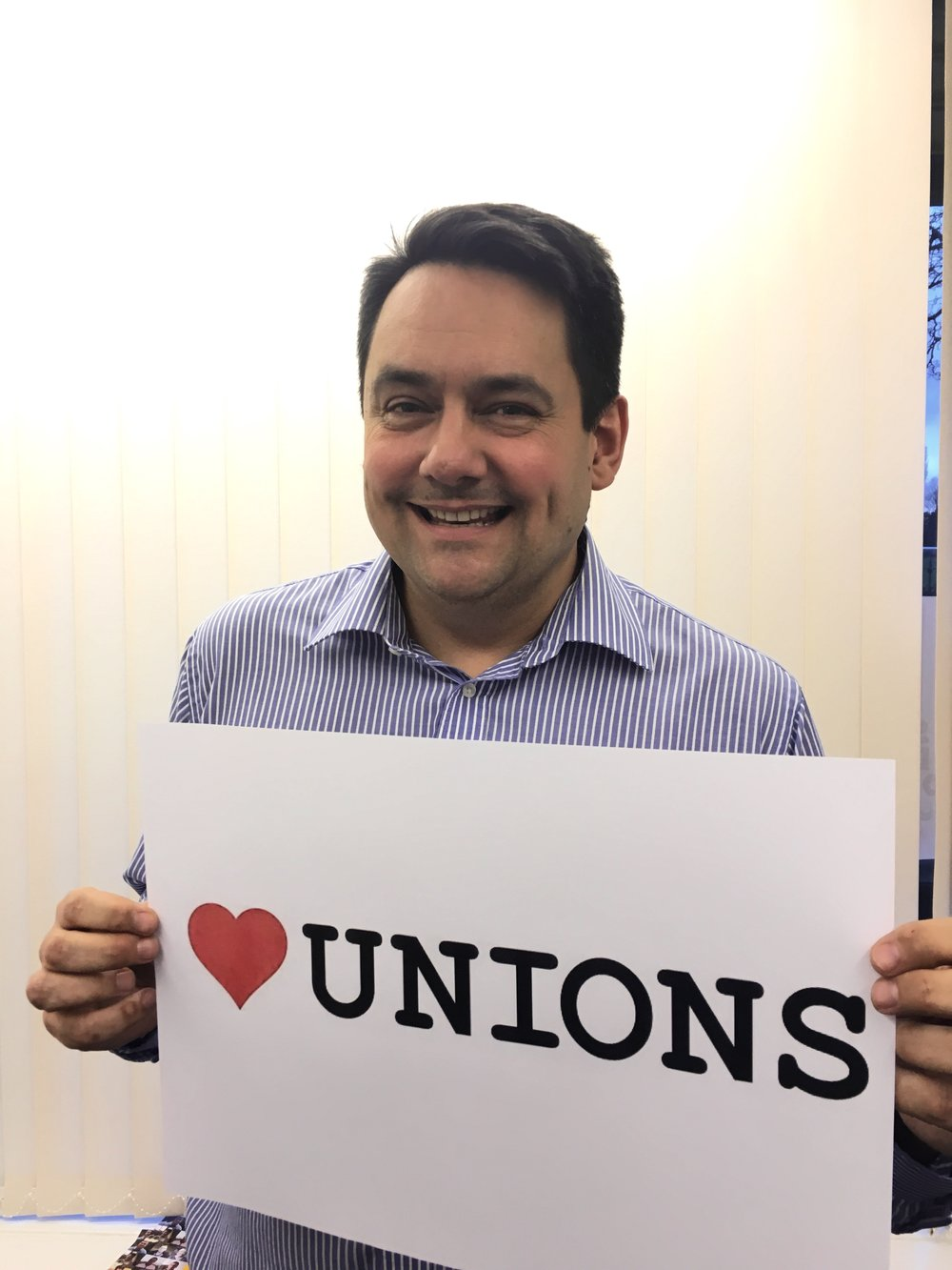 Supporting I Heart Unions Week