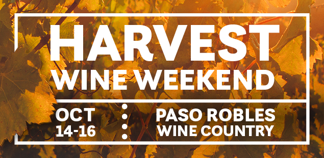 Harvest Wine Weekend, Oct 14-16, 2016