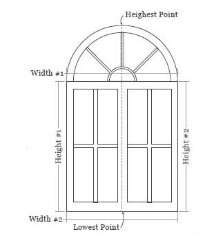 Arch Top Window