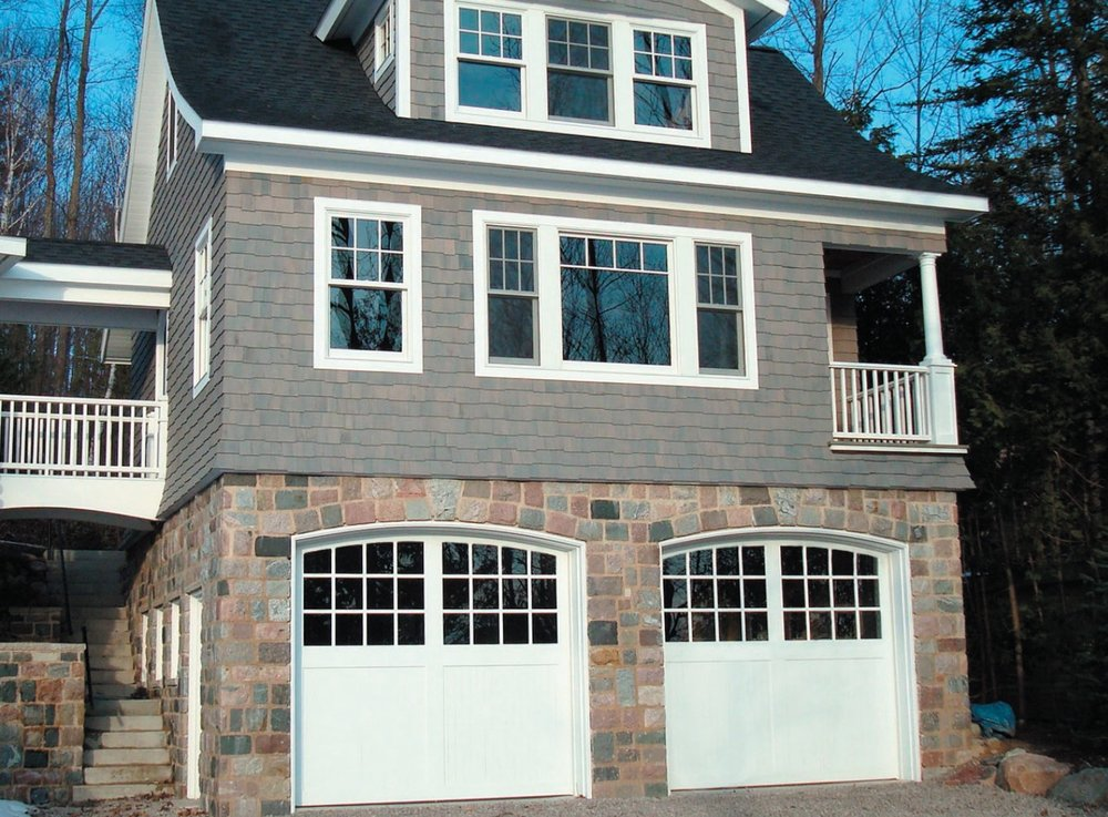 Previously, it had been considered not possible to offer windows on the large top section of a garage door. Designer Doors pushed the envelop and engineered Northern Lites, offering windows (lites) in a top section greater than thirty inches.