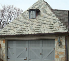 Designer Garage Doors for Old World European Charm