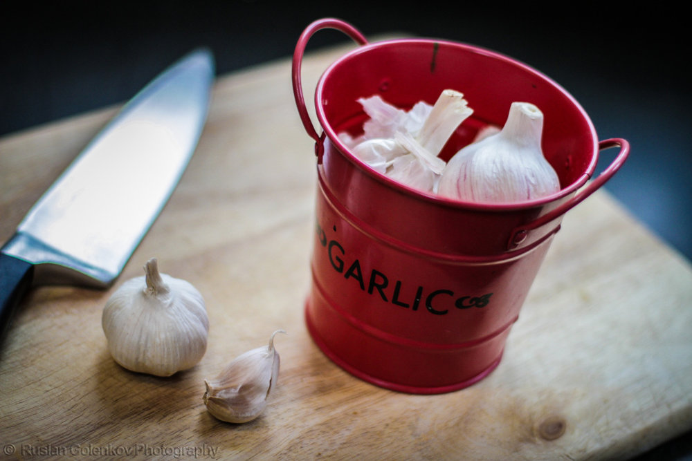 Backet of Garlic