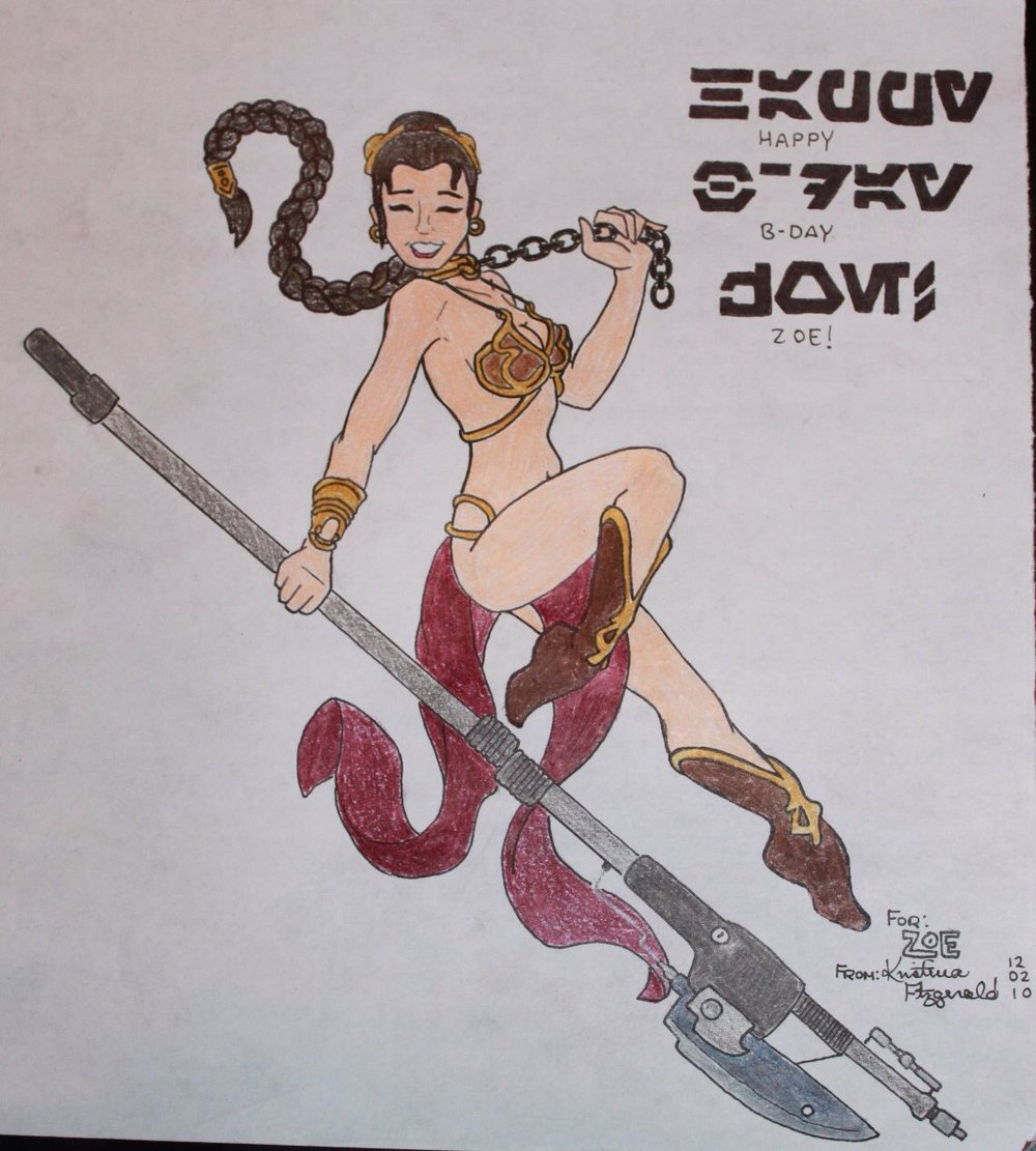 Princess Leia Pin Up, 2010