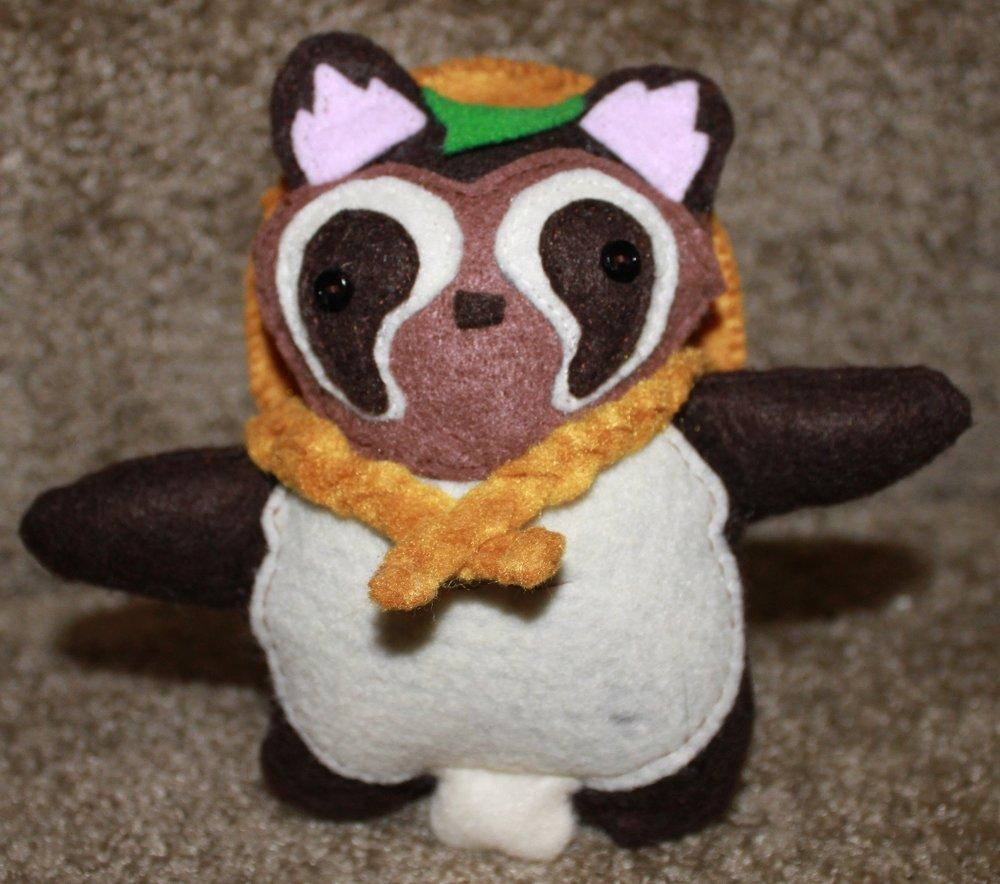 Stuffed Tanuki Toy