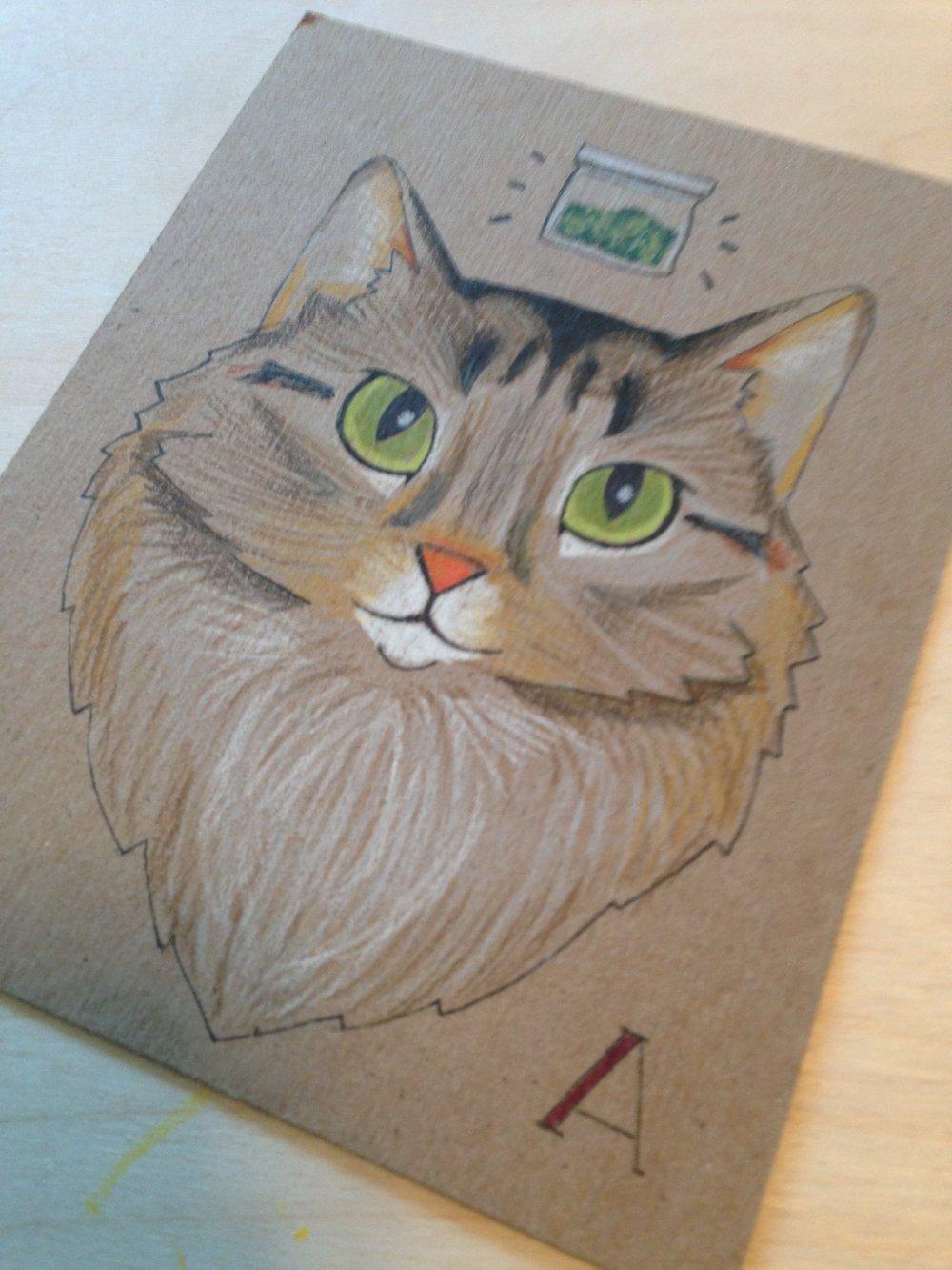 Ava the Cat, 2015