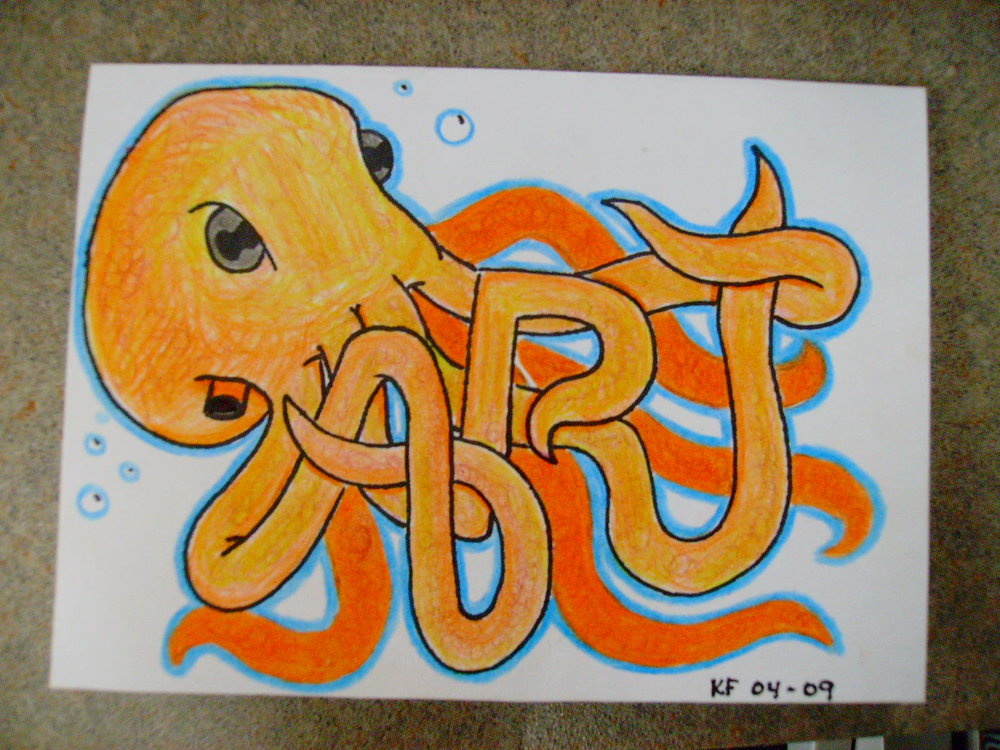 Octopus Art Card, 2009
