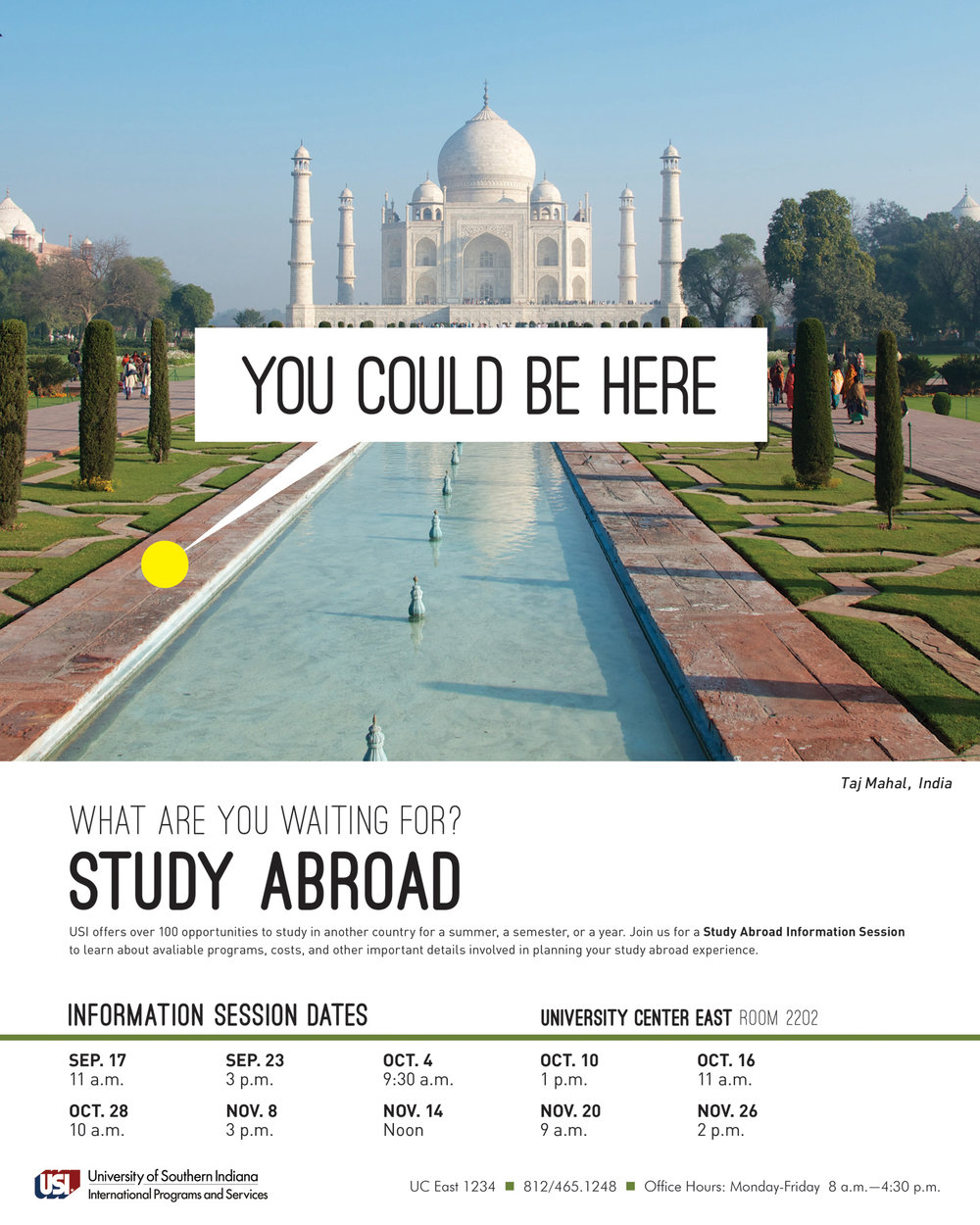 Study Abroad Poster Series