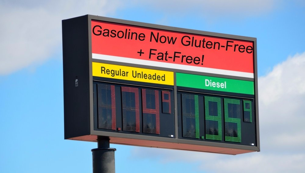 """""""Babe, let's stop at this gas station, their diesel seems healthier than that other brand..."""""""