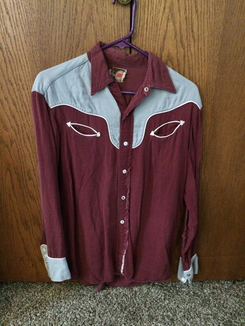 The Cowboy Shirt of Ronnie Owens