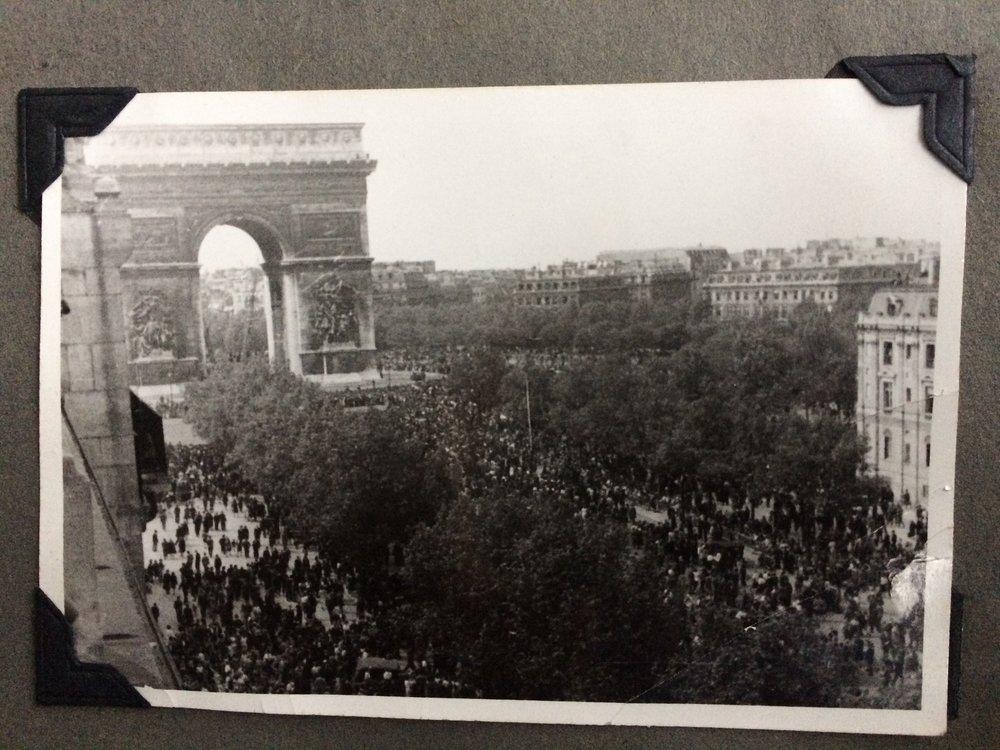 Paris on VE Day