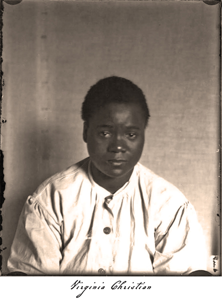 Virginia Christian at the time of her arrest.