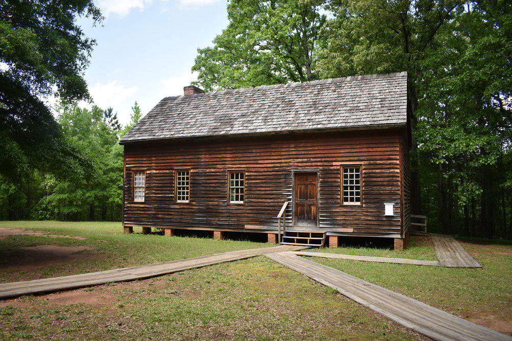 Another schoolhouse at historic Brattonsville