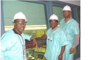 Allen Burks, Norris McDonald & Derry Bigby at Control Room