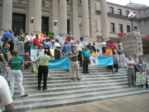 Pro-Nuclear Rally on Steps of Capitol in Jackson, Mississippi (2005)