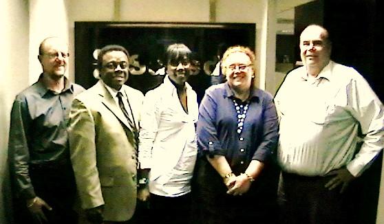 Martin Nel, Norris McDonald, Paula Jackson, Janelle Gravett, Time Raaff   Southern Africa Stainless Steel Development Association