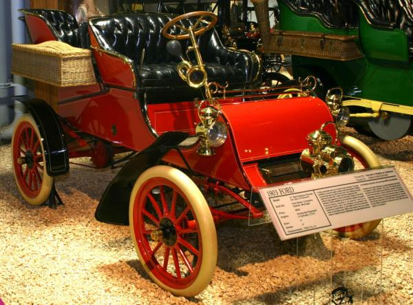 The original Model A produced by Henry Ford in 1903.