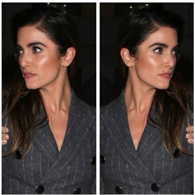 She's gorgeous, kind, AND @nikkireed is into the world of clean beauty. 😍 I loved painting on her beautiful face last night.  On makeup: @kateydenno  On hair: @creightonbowman