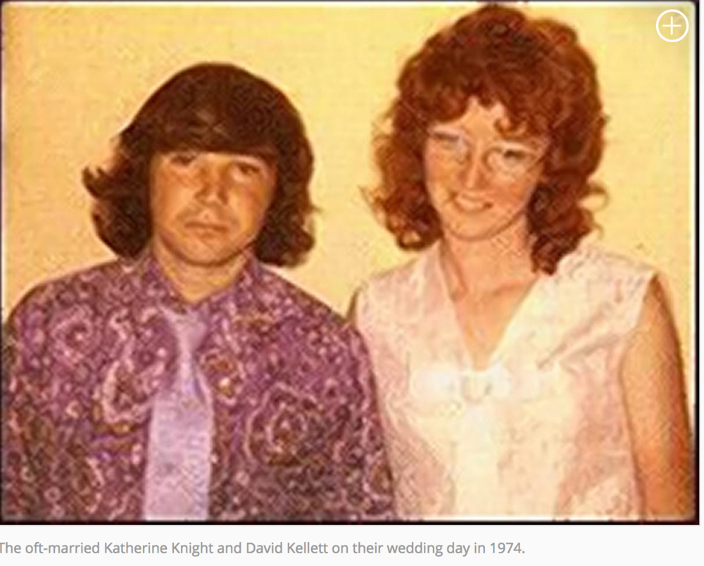 David Kellett and Katherine Knight