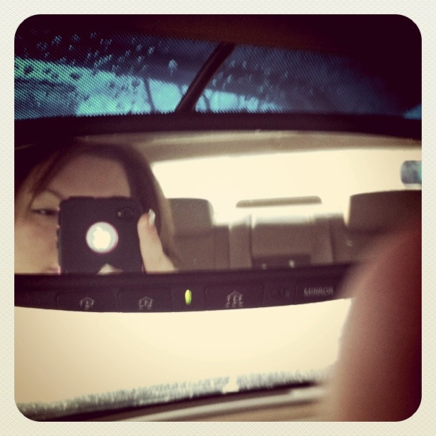 My very first Instagram photo, circa 2011. Around the same time I started a blog the first time. Hiding, even then.