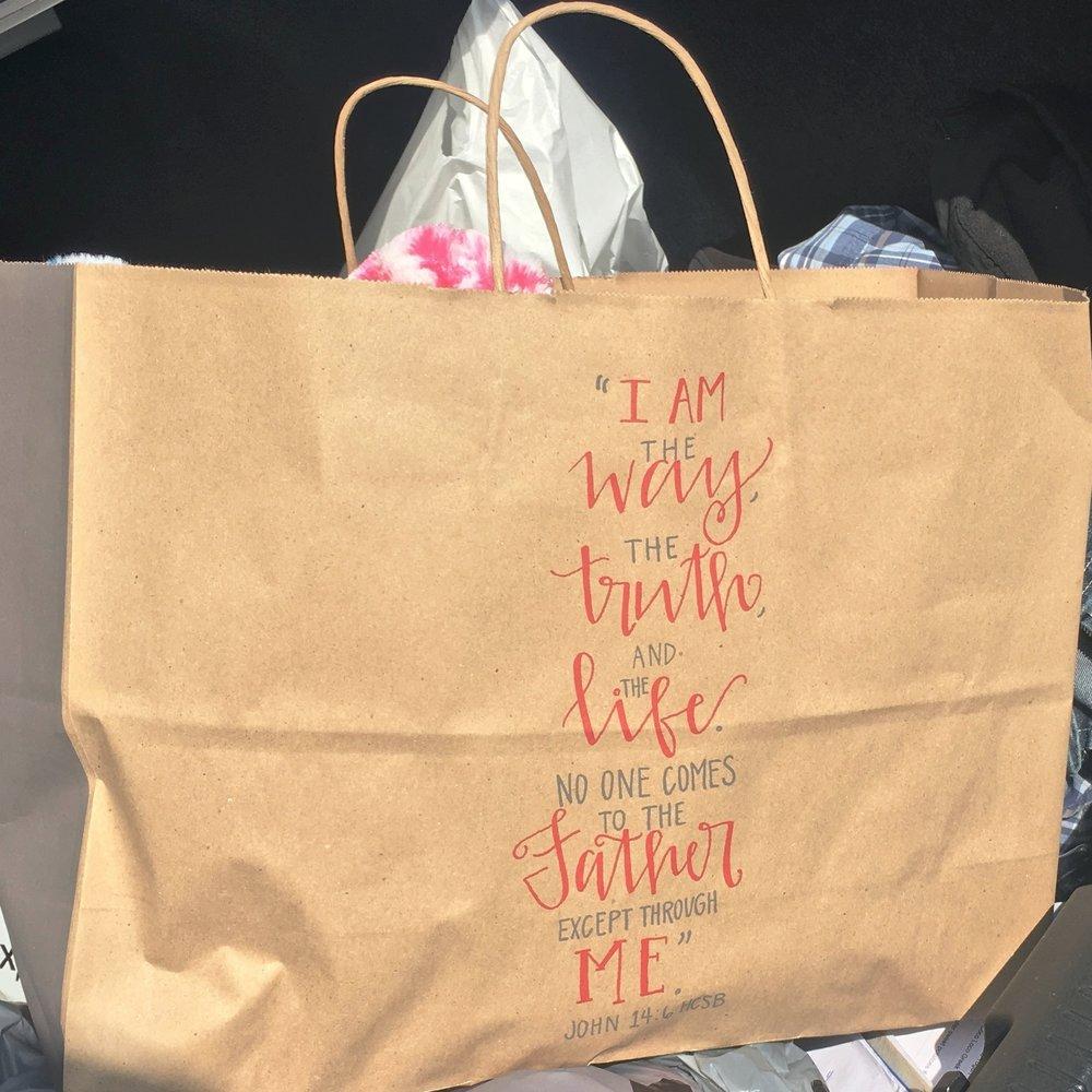 Lifeway bags! So nice!