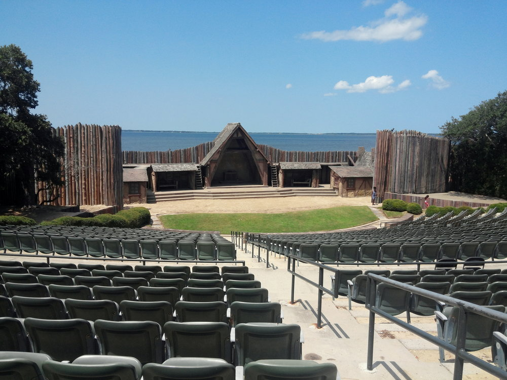 Waterside Theater, where they hold the Lost Colony play. Can't wait to see the play this year!
