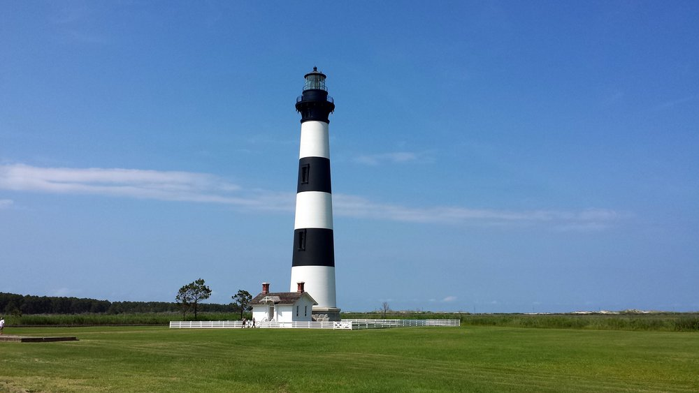 Bodie Island Lighthouse. I want to climb it this year!