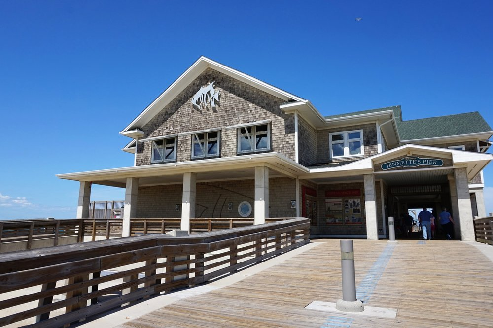 Welcome to Jannette's Pier in Nags Head, NC.