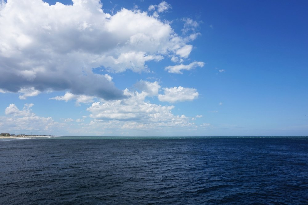A view from the pier. Very heavenly!