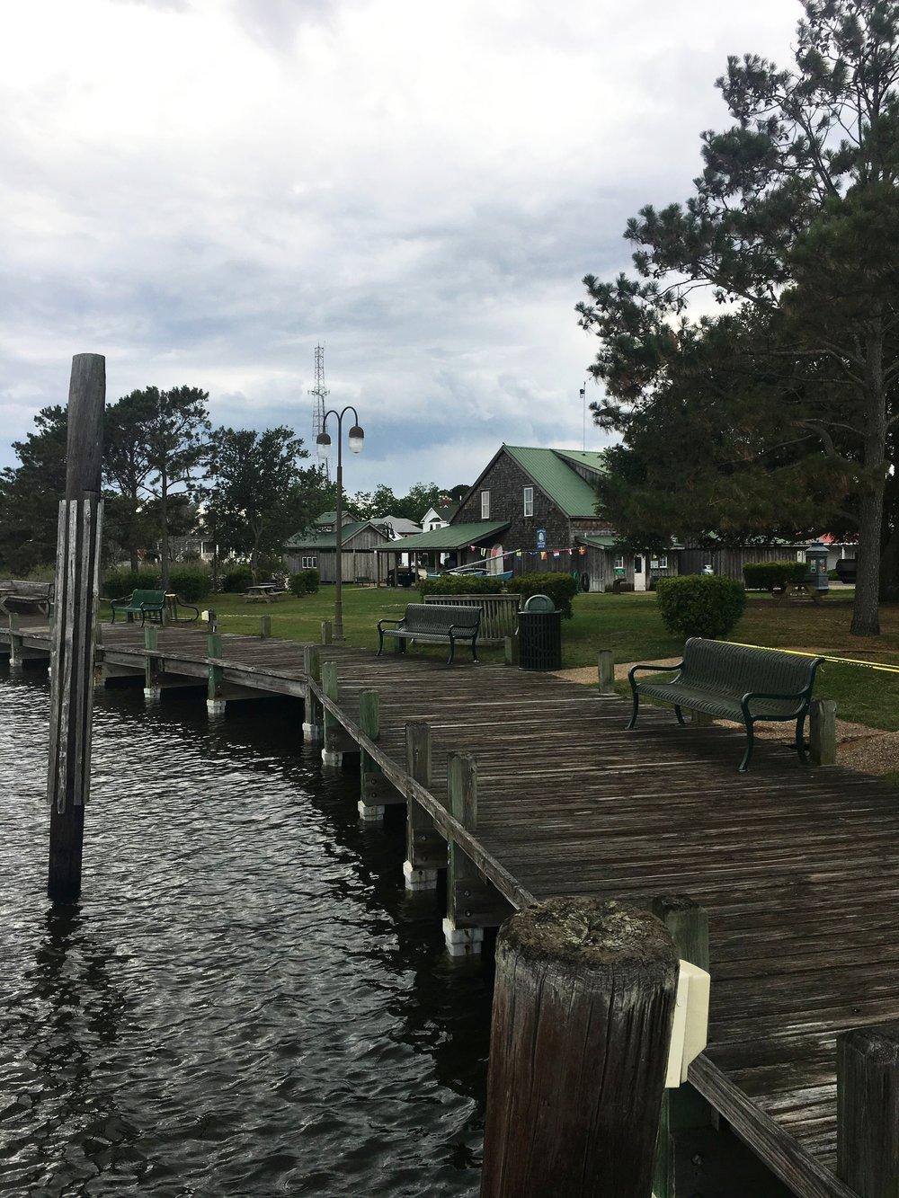 More Manteo waterfront!
