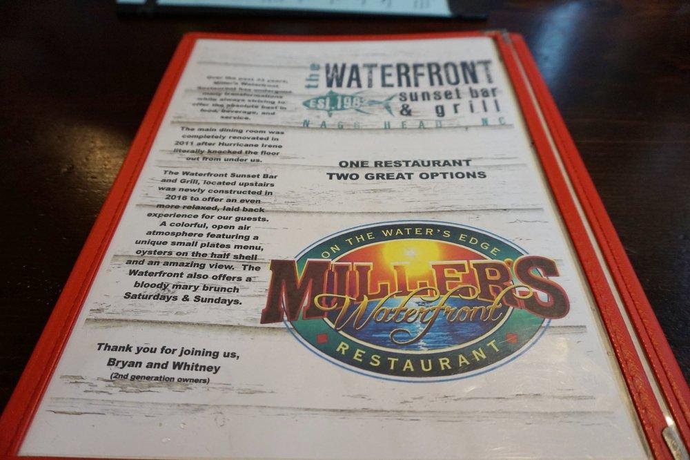Menu at Miller's