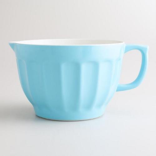 world market melamine batter bowl modern vintage a cheerful life