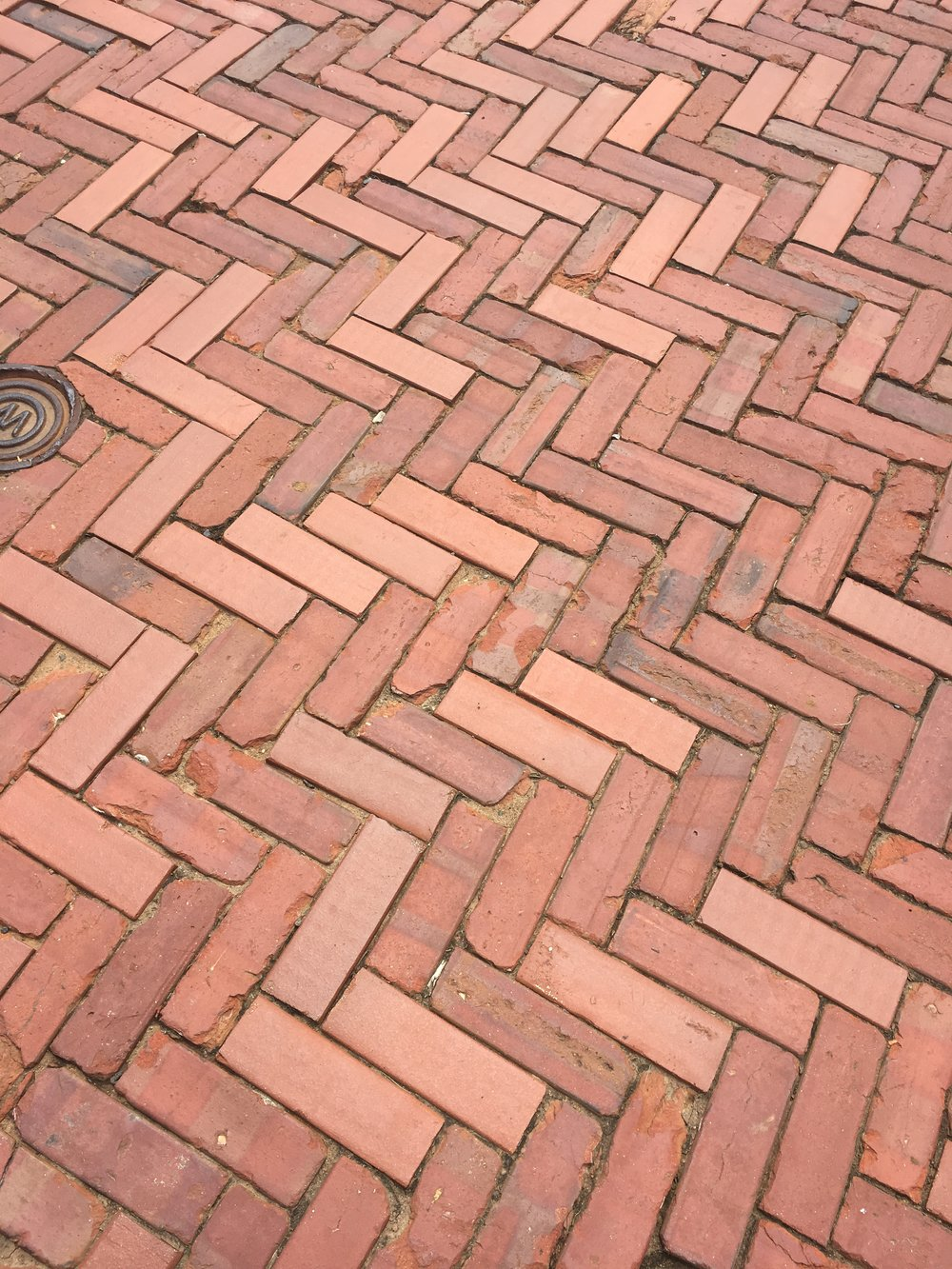 Beautiful Brick Walkway