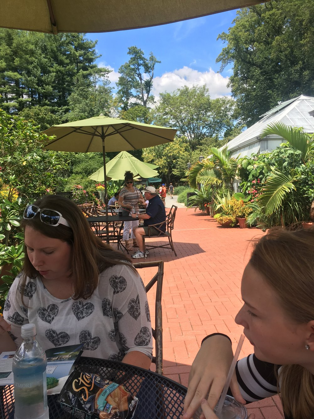 Lunch at The Conservatory