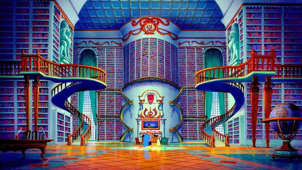 Beauty & The Beast Library [From the Disney Animated Movie]