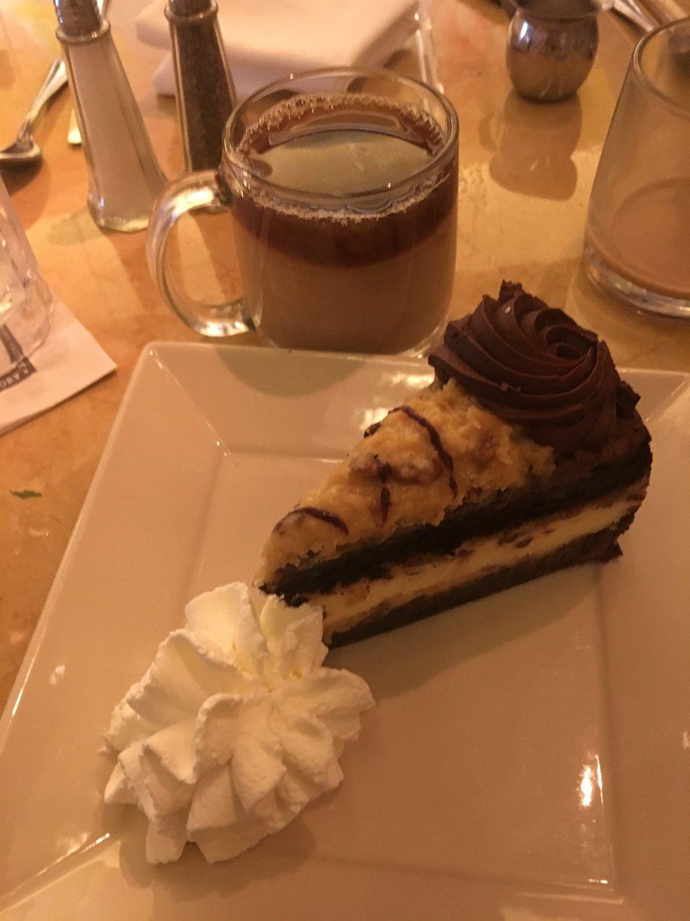 Cheesecake & Cappuccino