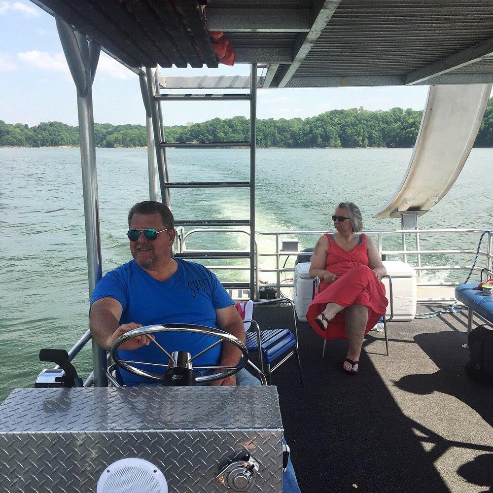 Ma & Pa, Enjoying The Ride