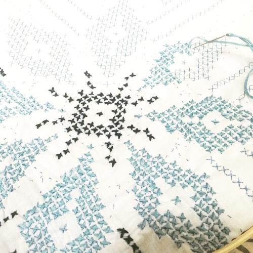 stamp cross stitch quilt blocks a cheerful life blog