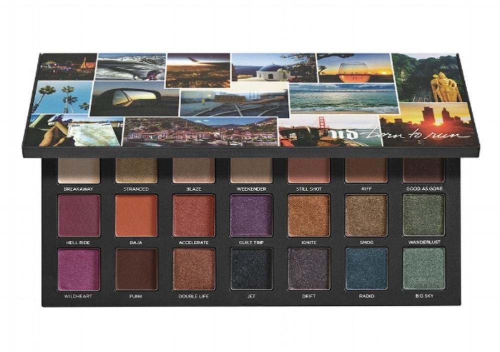 Urban Decay Born To Run Eye Shadow Palette - July Favorites - A Cheerful Life Blog