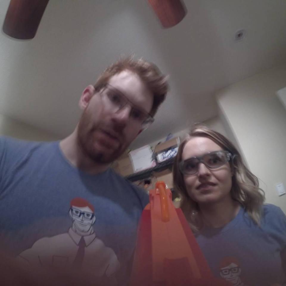 Founder Matt Nelson and Brittney Rosnow