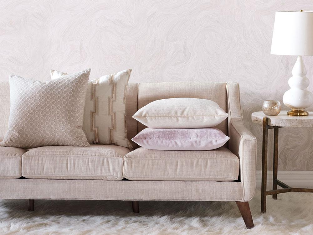 Sarah Montgomery Design Product Design Blush Pillows