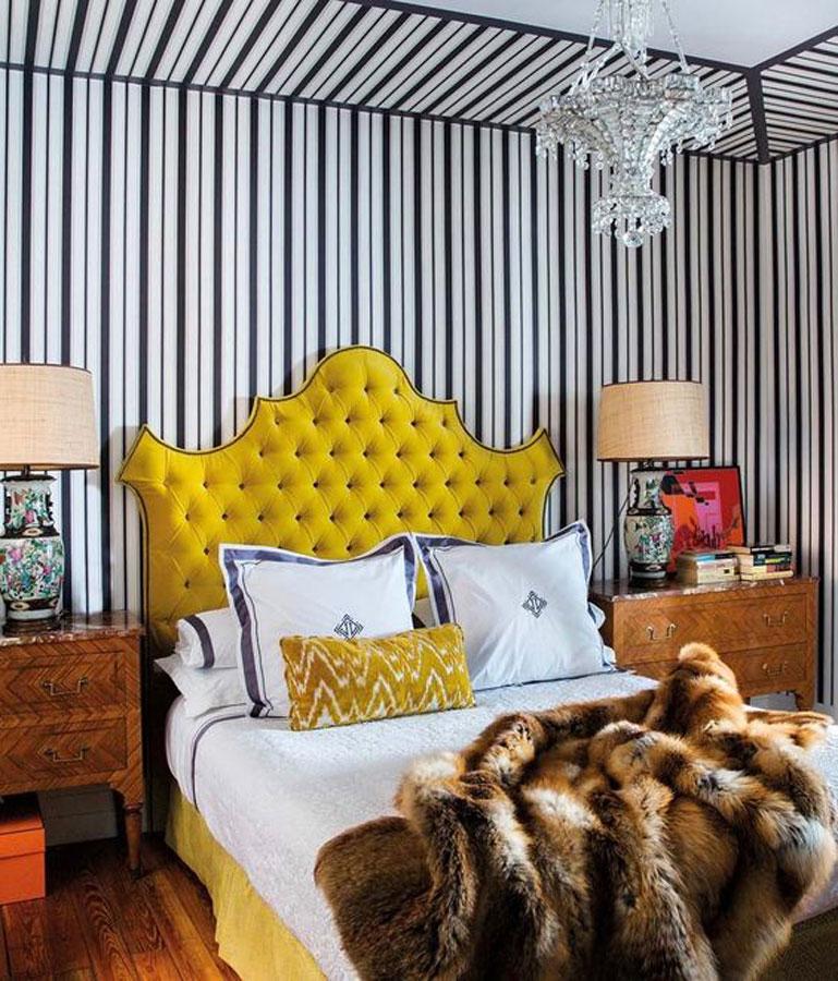 Home of designer Jorge Vazquez designed by Amaro Sanchez de Moya via Elle Decor Espana