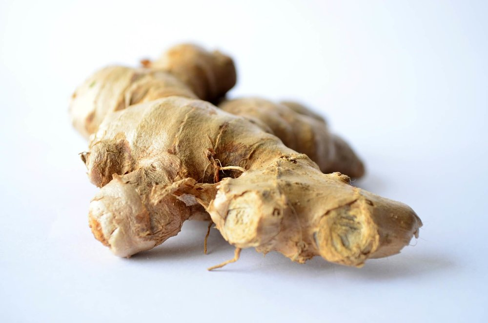 Ginger for weight loss and health.