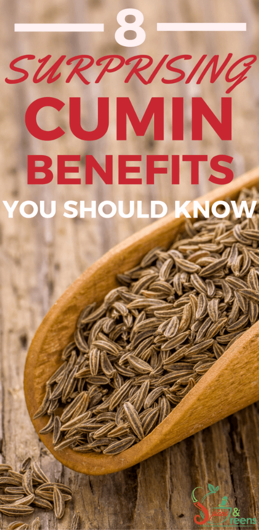 Cumin benefits for weight loss and other uses.  Includes healthy snack recipe that shows how to use this spice for weightloss.