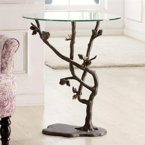 Bird And Pinecone Table 33491