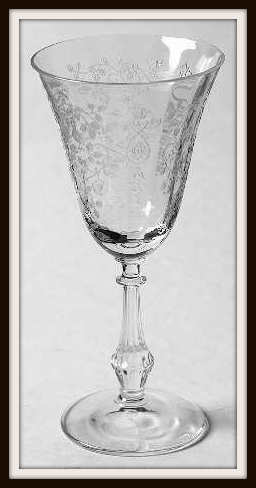 Arcady by Fostoria Claret Wine Glass