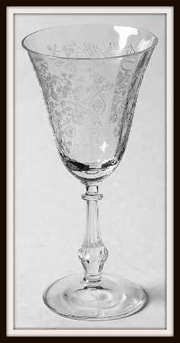 Arcady by Fostoria Claret Wine Glass