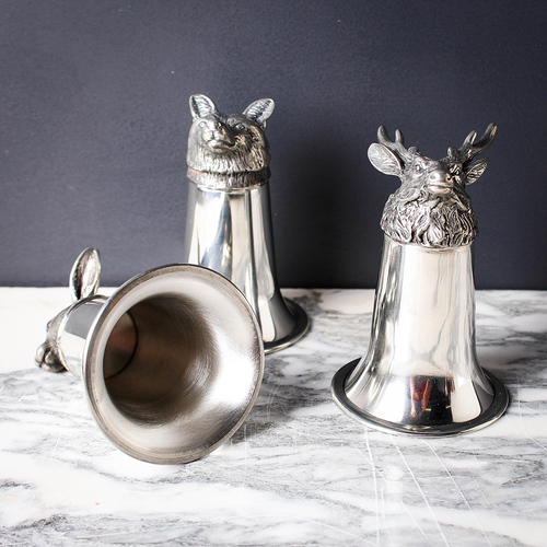 Pewter Stirrup Cups from Garden and Gun