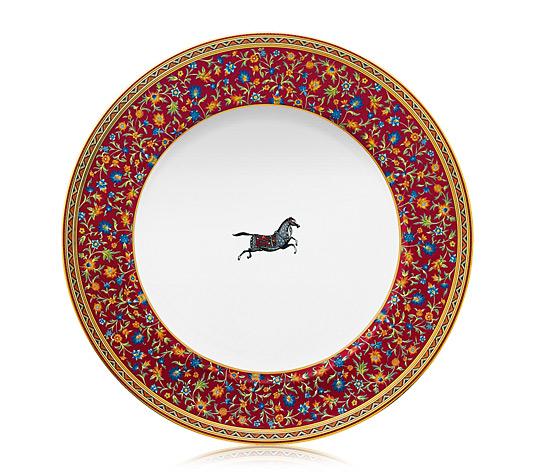 Hermes Cheval d'Orient Dinner Plate