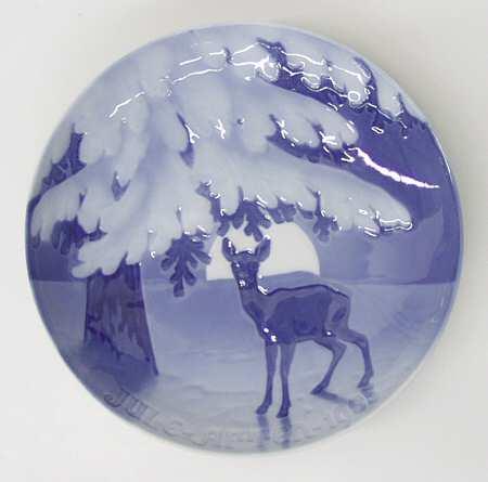"Bing & Grondahl ""Christmas Night"" Appetizer Plate"